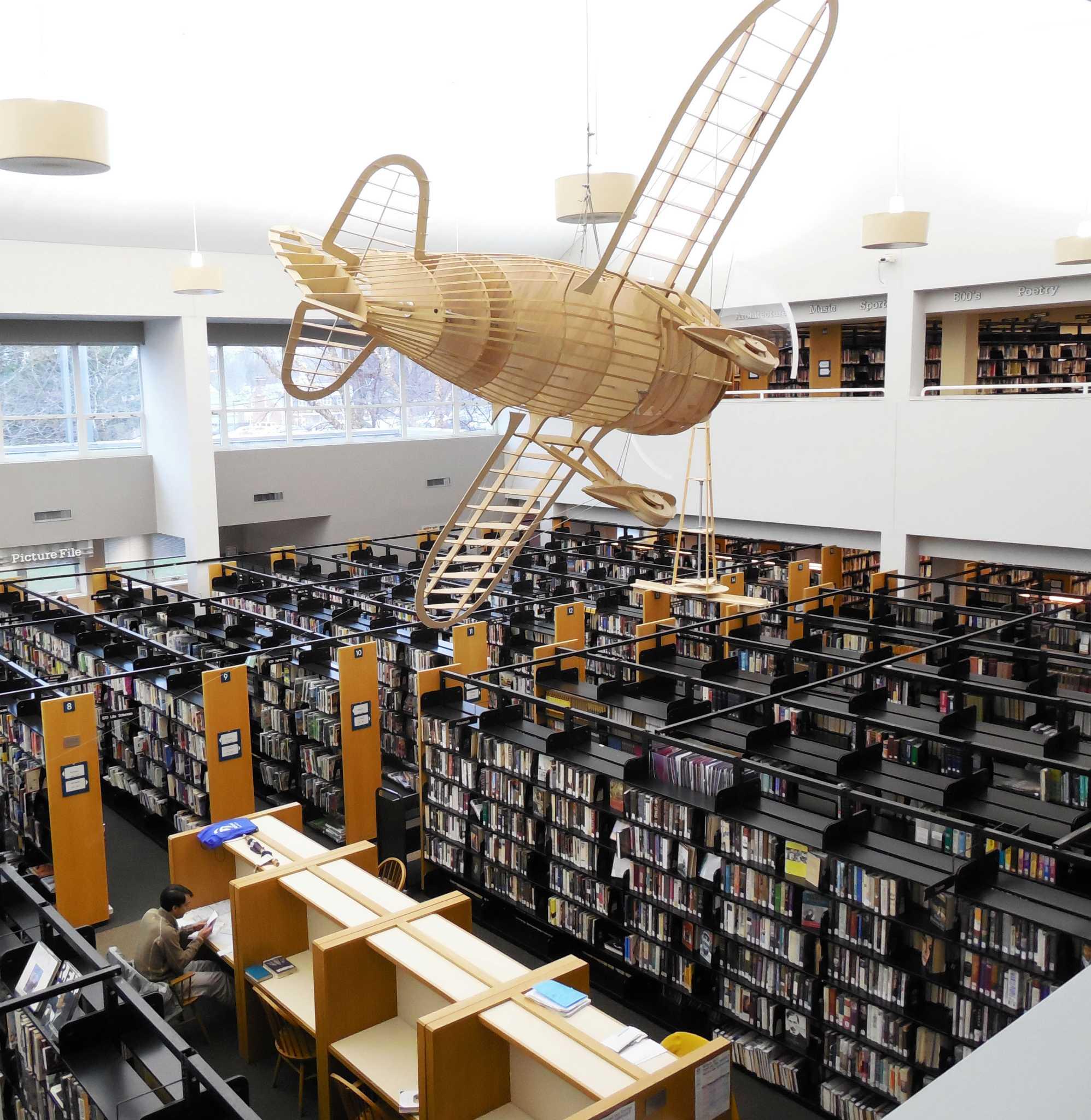 As Book Circulation Falls, Westport Library Adapts
