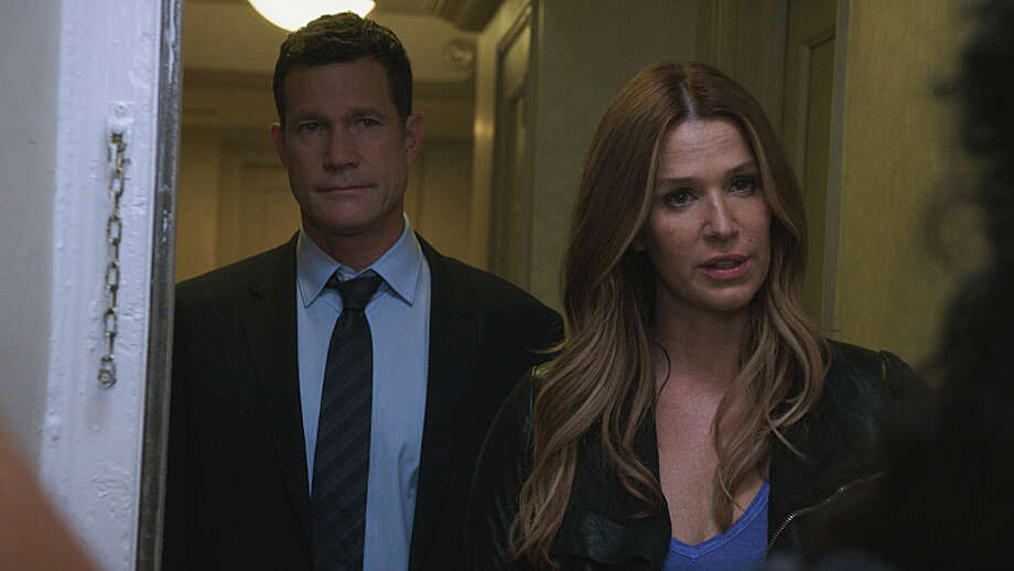 A murder at Carrie's high school reunion forced her to revisit her teenage memories in 'Unforgettable's' season finale. It aired  on Friday, May 9th on CBS. Photo: Best Possible Screen Grab, ©2013 CBS Broadcasting, Inc. All Rights Reserved / ©2013 CBS Broadcasting, Inc. All Rights Reserved