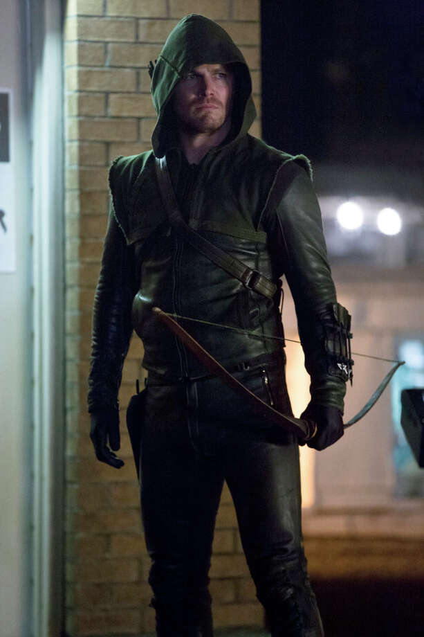 When Slade kidnaps someone close to Oliver, Oliver is forced to decide if he is a killer or a hero on 'Arrow's' season finale. Wednesday, May 14th on The CW at 7 p.m. Photo: Jack Rowand, The CW / Copyright, The CW, LLC All Rights Reserved
