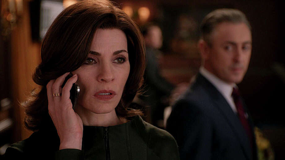 A wedge is driven between Alicia and Cary as Florrick/Agos and Lockhart/Gardner consider merging as 'The Good Wife' concludes its dramatic 5th season on Sunday, May 18th at 8 p.m. on CBS. Photo: Best Possible Screen Grab, ©2014 CBS Broadcasting, Inc. All Rights Reserved / ©2014 CBS Broadcasting, Inc. All Rights Reserved