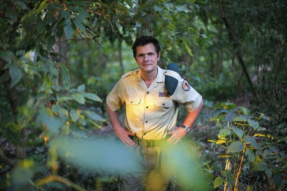 Emmanuel de Merode is Virunga National Park's director and chief warden. Photo: Jerome Delay, Associated Press