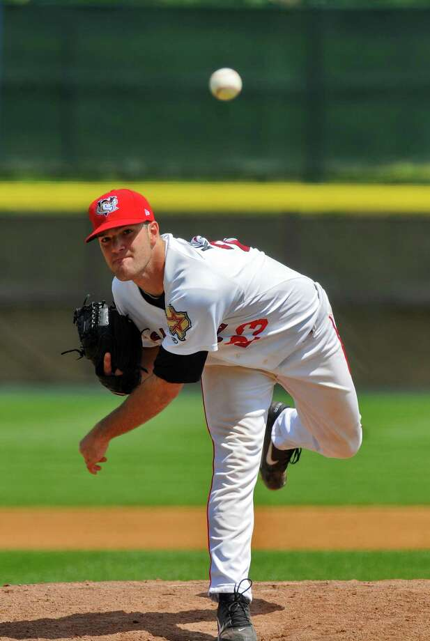 Dallas Keuchel pitched in 11 games for the Tri-City ValleyCats in 2009. The Astros selected him in the seventh round of the draft that year. Photo: PHILIP KAMRASS, ALBANY TIMES UNION / 00004904A