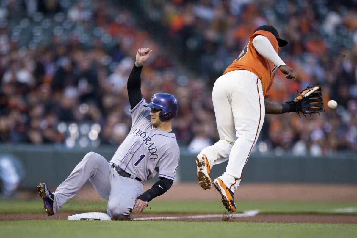 Outfielder Brandon Barnes is playing for the Colorado Rockies, after spending 1½ seasons with the Houston Astros.