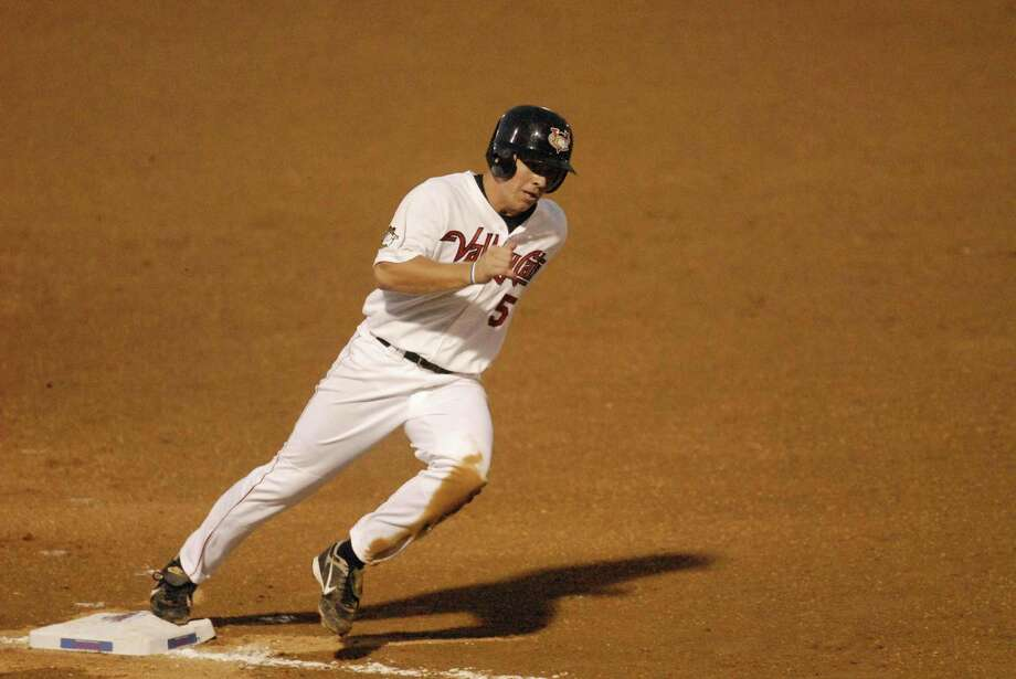Outfielder J.B. Shuck batted .300 over 65 games with the Tri-City ValleyCats in 2008, after the Astros drafted him in the sixth round that year. Photo: Michael P. Farrell, Albany Times Union / Albany Times Union