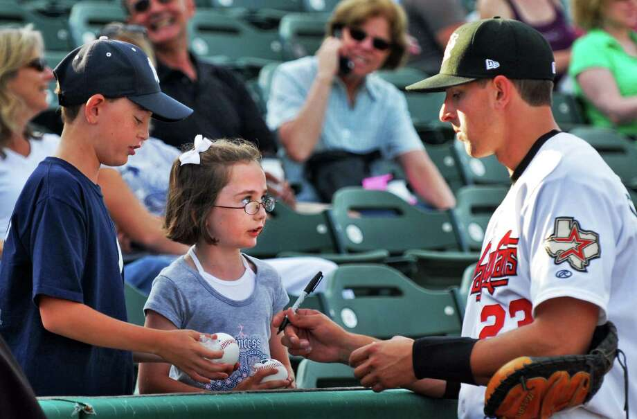 Catcher Jason Castro made his pro baseball debut for the ValleyCats in 2008, playing 39 games for Tri-City after the Astros selected him with the 10th overall pick in the draft that year. Photo: John Carl D'Annibale, Albany Times Union / Albany Times Union