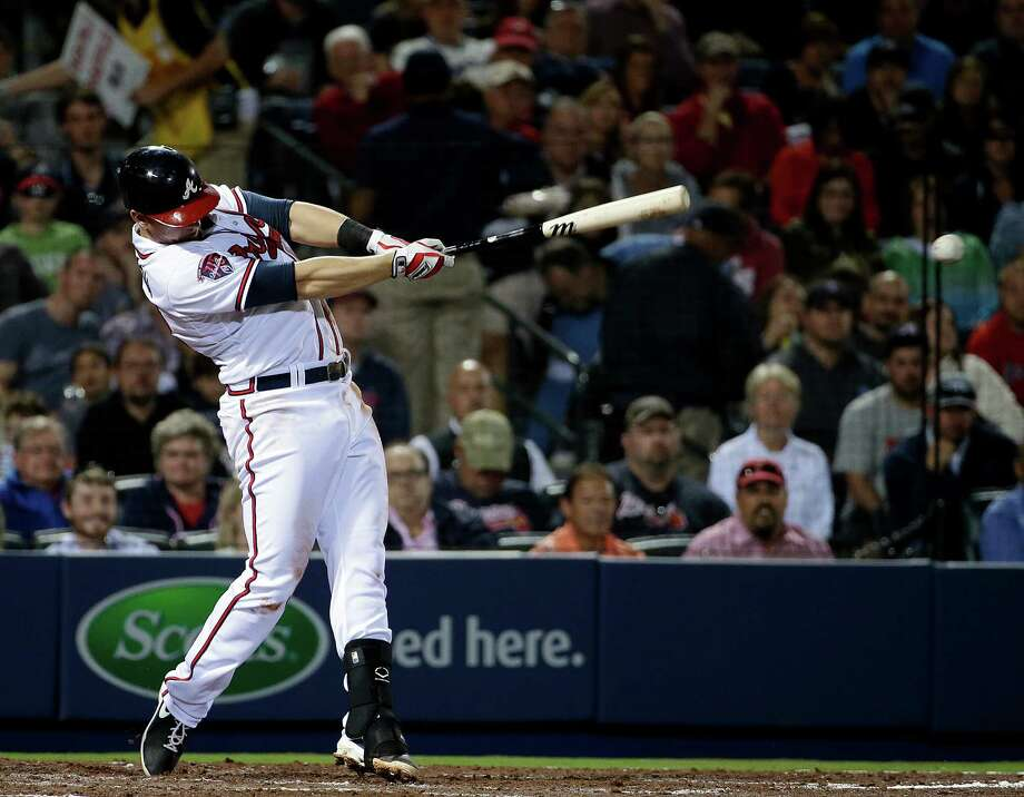 Third baseman Chris Johnson hit .312 for the Atlanta Braves in 2013, his third team over five big-league seasons. Photo: David Goldman, AP / AP
