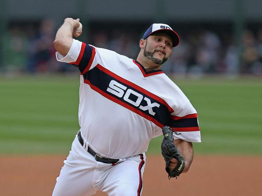 Starting pitcher Felipe Paulino is trying to bounce back from elbow and shoulder surgery with the Chicago White Sox. He entered the season 13-32 with a 4.93 ERA over 93 games (61 starts). Photo: Jonathan Daniel, Getty / 2014 Getty Images