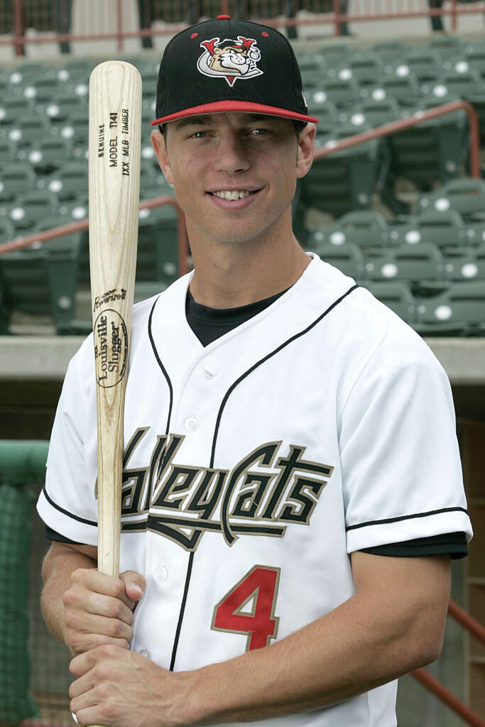 Ben Zobrist played in 68 games for the Tri-City ValleyCats, after the Astros selected him in the sixth round of the 2004 draft.