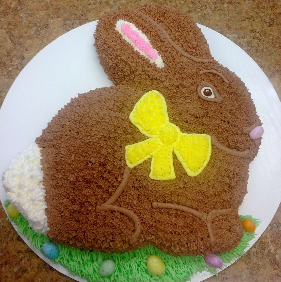 Chocolate bunny cake from Forever Sweet Bakery in Norwalk   Visit the site  Forever Sweet Bakery, 4 New Canaan Avenue, Norwalk