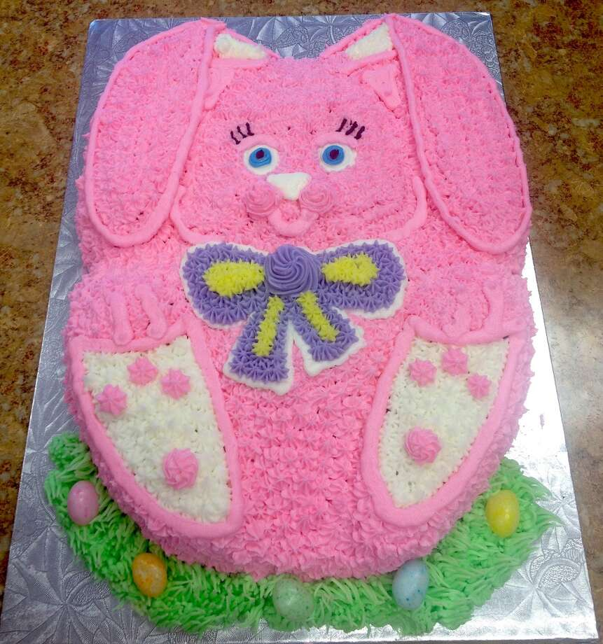 Vanilla bunny cake from Forever Sweet Bakery in Norwalk   Visit the site  Forever Sweet Bakery, 4 New Canaan Avenue, Norwalk