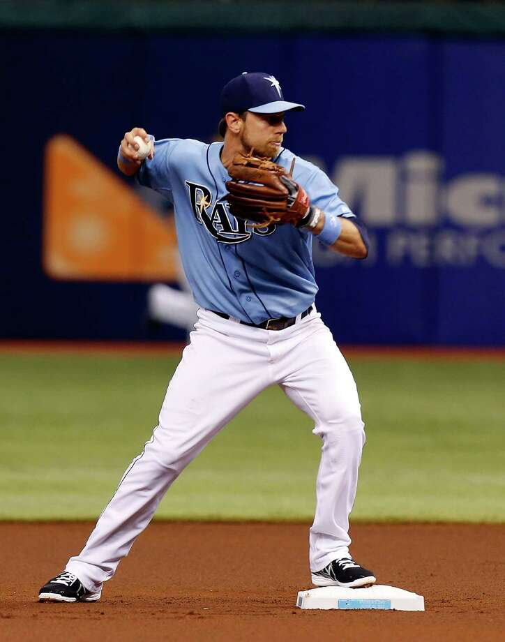 Tampa Bay Rays superutility player Ben Zobrist has made two All-Star appearances and received MVP three votes in three seasons, including an eighth-place finish in 2009. Photo: J. Meric, Getty Images / 2013 Getty Images