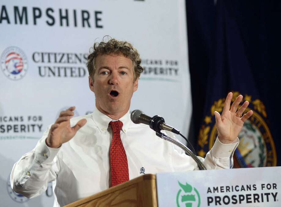 Rand Paul's foreign policy positions don't fit with the hawkish views traditionally advocated by Republicans. Photo: Darren McCollester / Getty Images / 2014 Getty Images