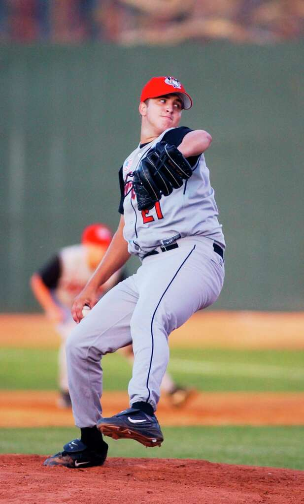 Matt Albers was a starter for the Tri-City ValleyCats in 2003, posting a 2.92 ERA over 15 games.