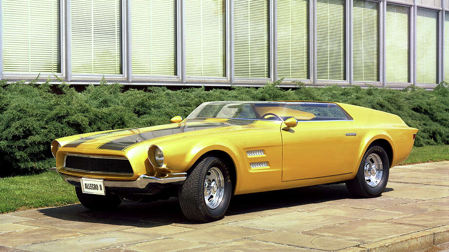 In 1967, Ford designers decided to reprise one of the original Mustang design concepts from 1962 with a new form and repurposed name. Starting with the Avanti/Allegro fastback coupe, the greenhouse was removed and replaced with a low-cut speedster-style windshield, rollbar, flying buttresses on the rear deck and a new rear end. The reworked concept was dubbed Allegro II. Photo: Ford Motor Company