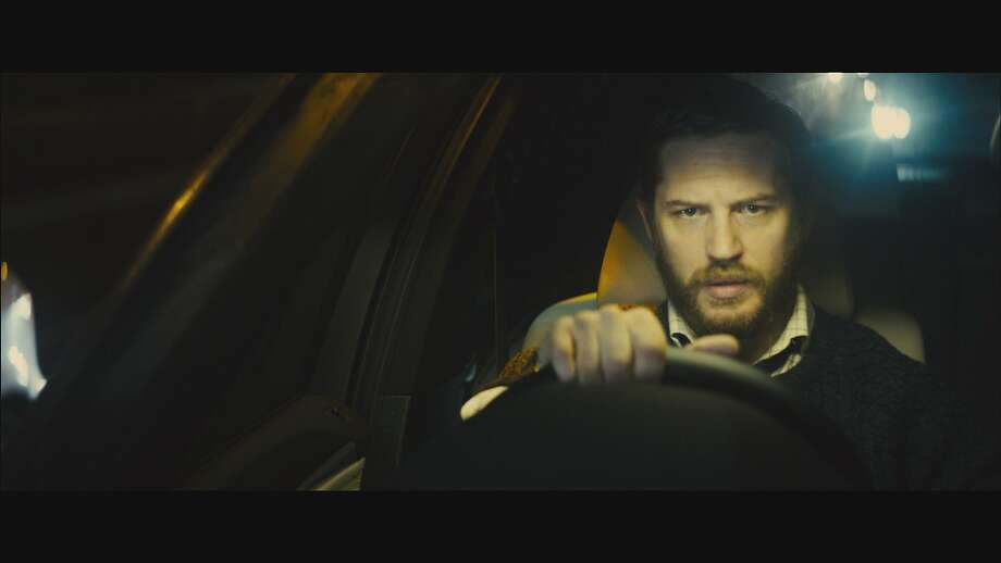 "Ivan Locke (Tom Hardy, above) is a construction manager who makes a choice that alters his life in ""Locke,"" directed by Steven Knight, below. Photo: Shoebox Films"