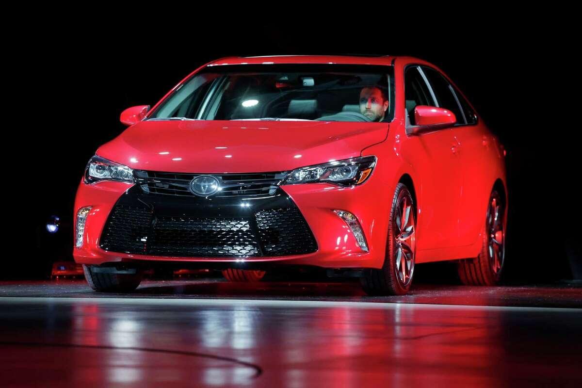 3. 2015 Toyota Camry (AP Photo/Mark Lennihan)