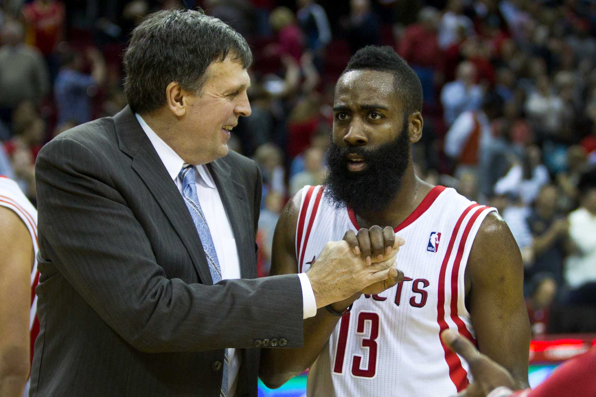 6a9897cdc5c1 Rockets  James Harden fires back at former coach   He s a clown ...