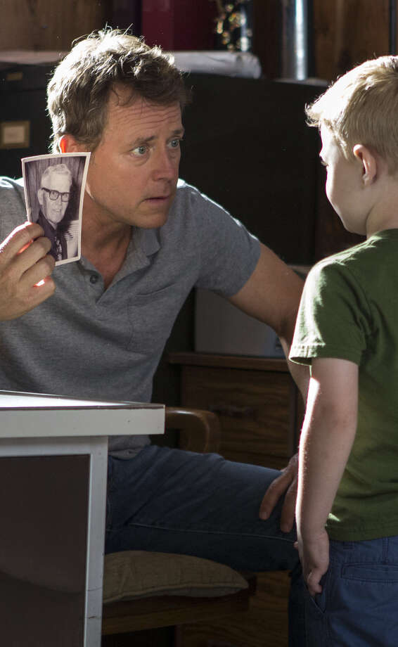 "Greg Kinnear's new movie ""Heaven Is For Real"" based on the book about a little boy's trip to Heaven and back opens this weekend.  Photo: Allen Fraser, Associated Press / Sony Pictures"
