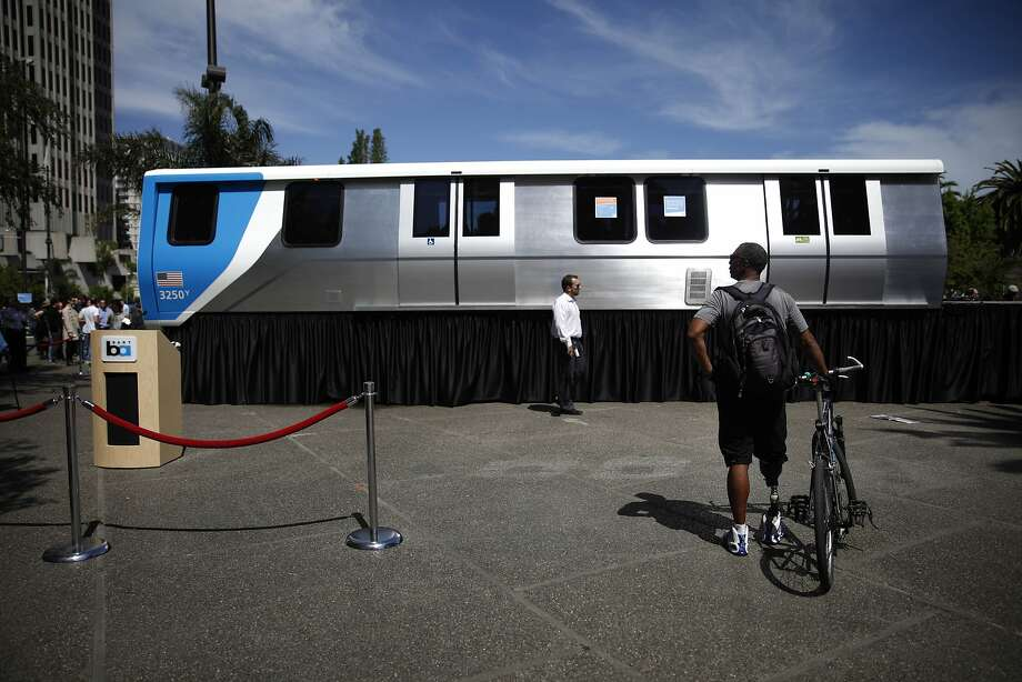 BART has plans to put 140 of the reimagined train cars into service in 2017, with more arriving each month until 2023. Photo: Lea Suzuki, The Chronicle