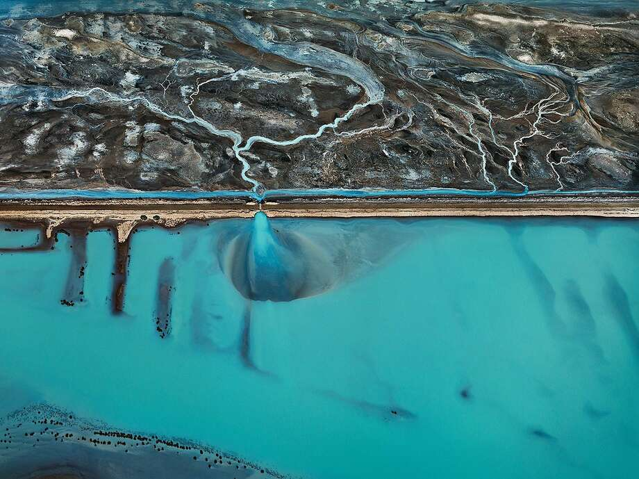 "Cerro Prieto Geothermal Power Station, Baja, Mexico, as seen in, ""Watermark."" Photo: Edward Burtynsky, Entertainment One"