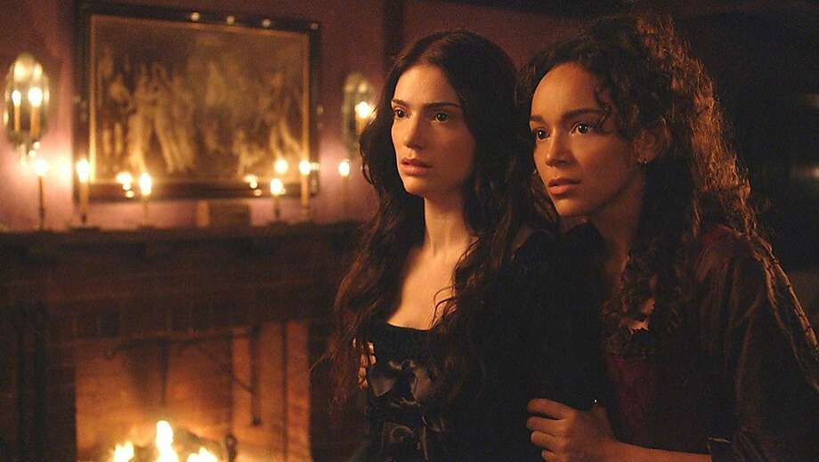 Janet Montgomery and Ashley Madekwe star in WGN America's ''Salem.'' Photo: WGN America