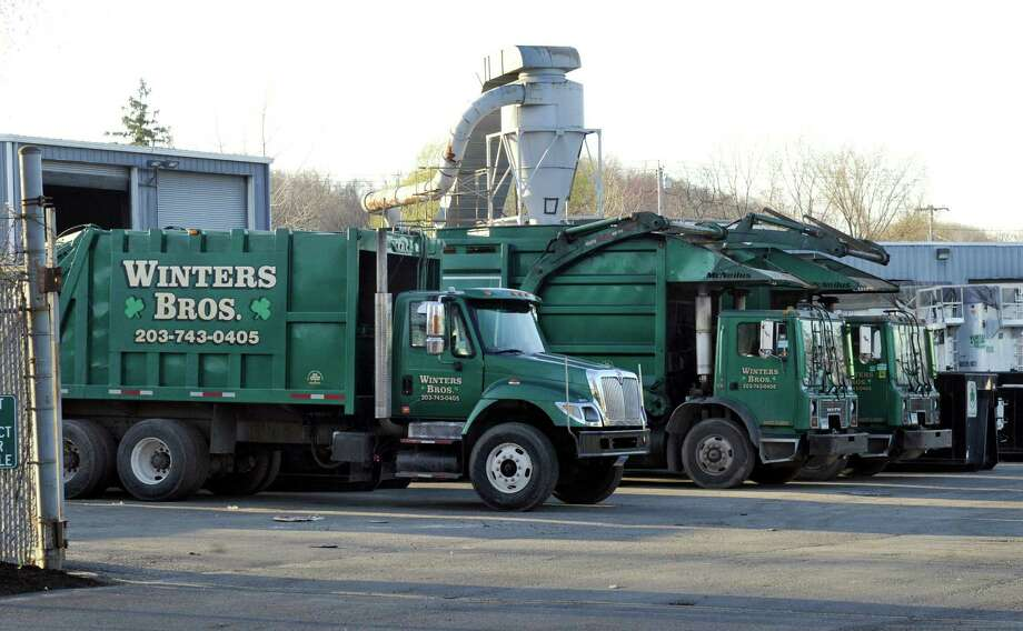 Trucks sit out on the lot at Winters Brothers on White Street in Danbury, Conn. Wednesday, April 16, 2014. Photo: Carol Kaliff / The News-Times