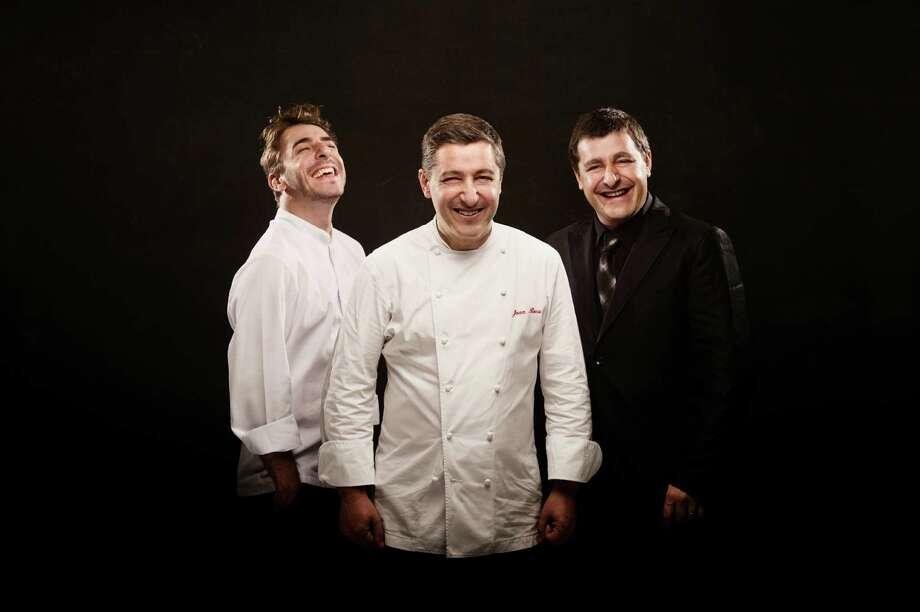 The Roca brothers - Jordi, left, Joan and Josep - are No. 1 on the World's 50 best restaurants list. Photo: BBVA Compass / BBVA Compass