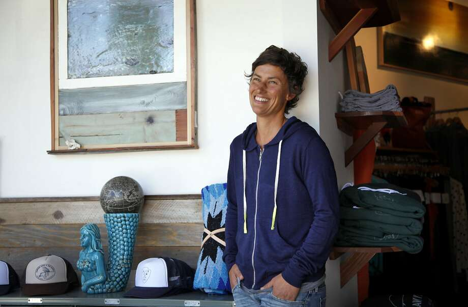 Stacy Forrester left the corporate world to open her store, specializing in locally made outdoor provisions. Photo: Preston Gannaway, Special To The Chronicle