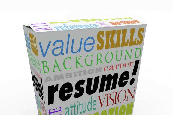 A resume on a unique product or box to present you in an interview as the best candidate to be hired for a job, presenting your background, experience, education, skills and career goals FOTOLIA