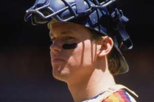 Craig Biggio, catcher    Drafted:  22nd pick in 1987.   Debut:  1988, 22 years old.    Results:  Hitless in 2 at-bats but walked and stole a base.
