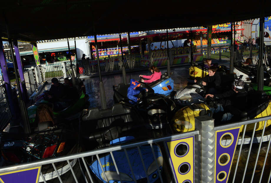 The annual Trumbull Rotary Carnival at Hillcrest Middle School in Trumbull, Conn. on Wednesday April 16, 2014. The carnival runs through Saturday. Photo: Christian Abraham / Connecticut Post