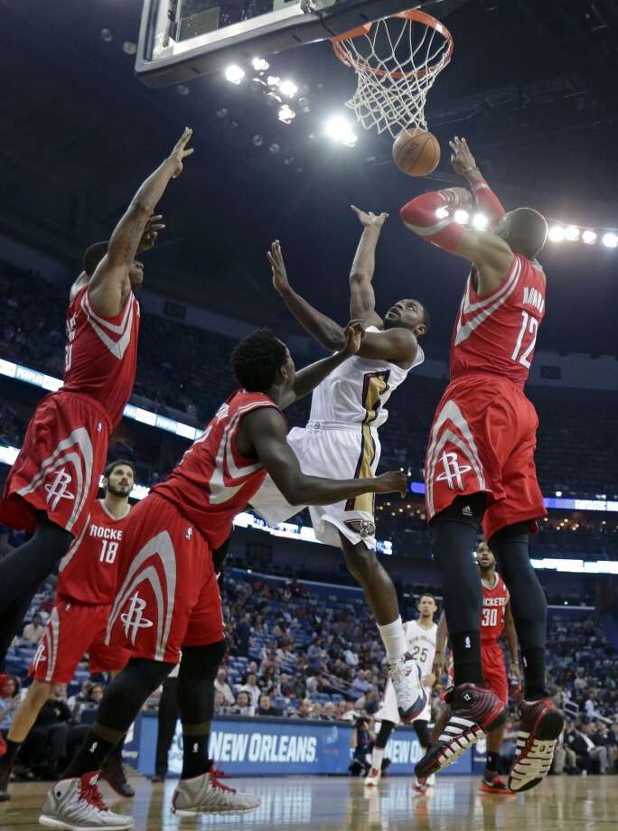 April 16: Pelicans 105, Rockets 100  While resting most of their starters, the Rockets dropped the season finale in New Orleans.  Record: 54-28 Photo: Gerald Herbert, Associated Press