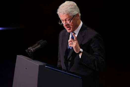 NEW YORK - SEPTEMBER 09:  Former President Bill Clinton speaks at a tribute to the late television journalist Walter Cronkite on September 9, 2009 at Lincoln Center in New York City. Numerous dignitaries attended the morning memorial service for the former CBS anchorman who died in July.  (Photo by Spencer Platt/Getty Images) *** Local Caption *** Bill Clinton Photo: Spencer Platt, Getty Images / 2009 Getty Images