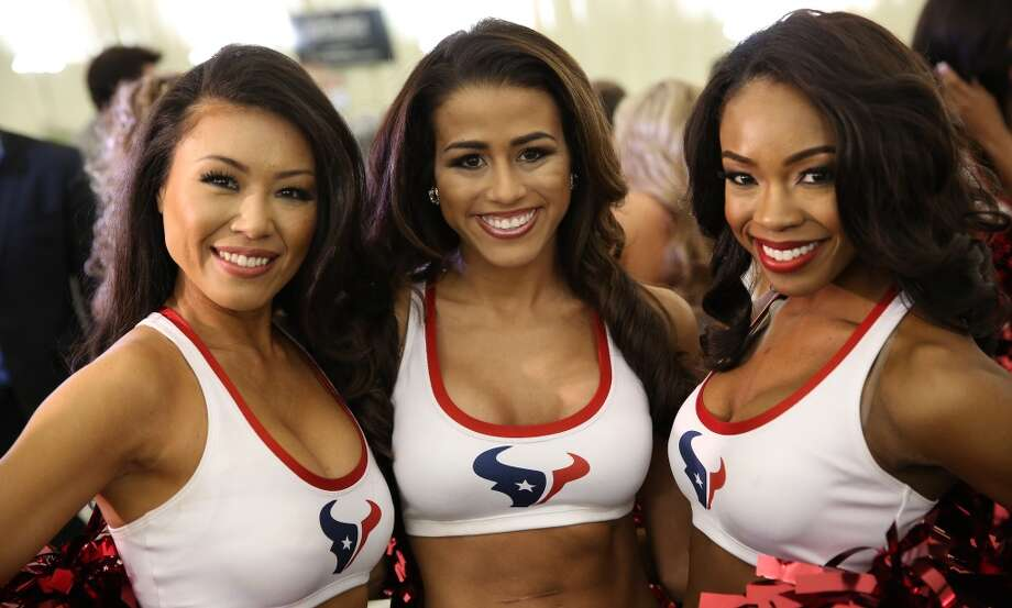 Fifty girls showed up on April 16, 2014 at the Houston Texans practice facility in Houston, Texas to see which 35 girls made the 2014-2015, Houston Texans Cheerleading Team. Photo: Thomas B. Shea