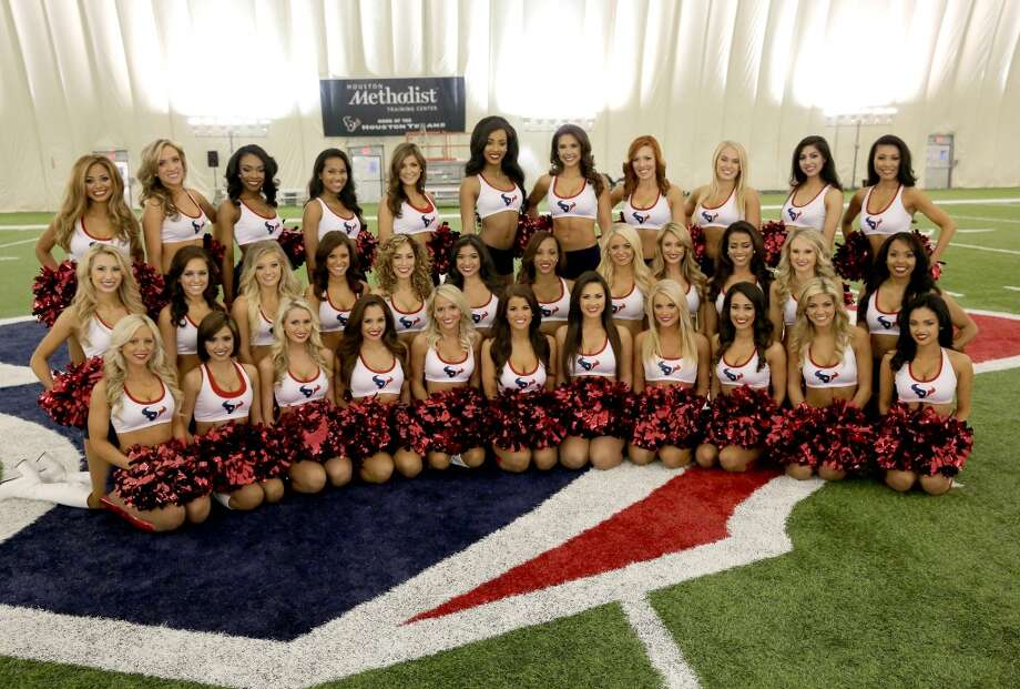 Introducing the 2014-15 Houston Texans Cheerleading team. Fifty girls showed up on April 16, 2014 at the Houston Texans practice facility in Houston, Texas to see which 35 girls made the 2014-2015, Houston Texans Cheerleading Team. Photo: Thomas B. Shea