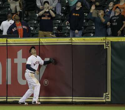 April 16: Royals 6, Astros 4 (11)  Mike Moustakas hit a go-ahead homer over George Springer's head in the 11th inning to seal the Astros' fate.  Record: 5-10. Photo: Melissa Phillip, Houston Chronicle