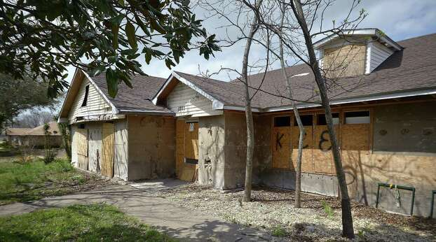 One of the homes still boarded-up in West, Texas, on Tuesday, April 1, 2014. West experienced widespread devastation following a fertilizer plant explosion last year. (Max Faulkner/Fort Worth Star-Telegram/MCT) Photo: Max Faulkner, Various (SCC) / Fort Worth Star-Telegram