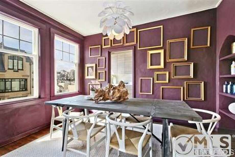 The small unit actually has a sizable formal dining room. Photo: MLS