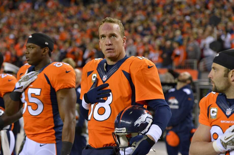 Peyton Manning, Denver Broncos QB, age 38: $43 million (est.) Source: Parade Photo: Jack Dempsey, AP