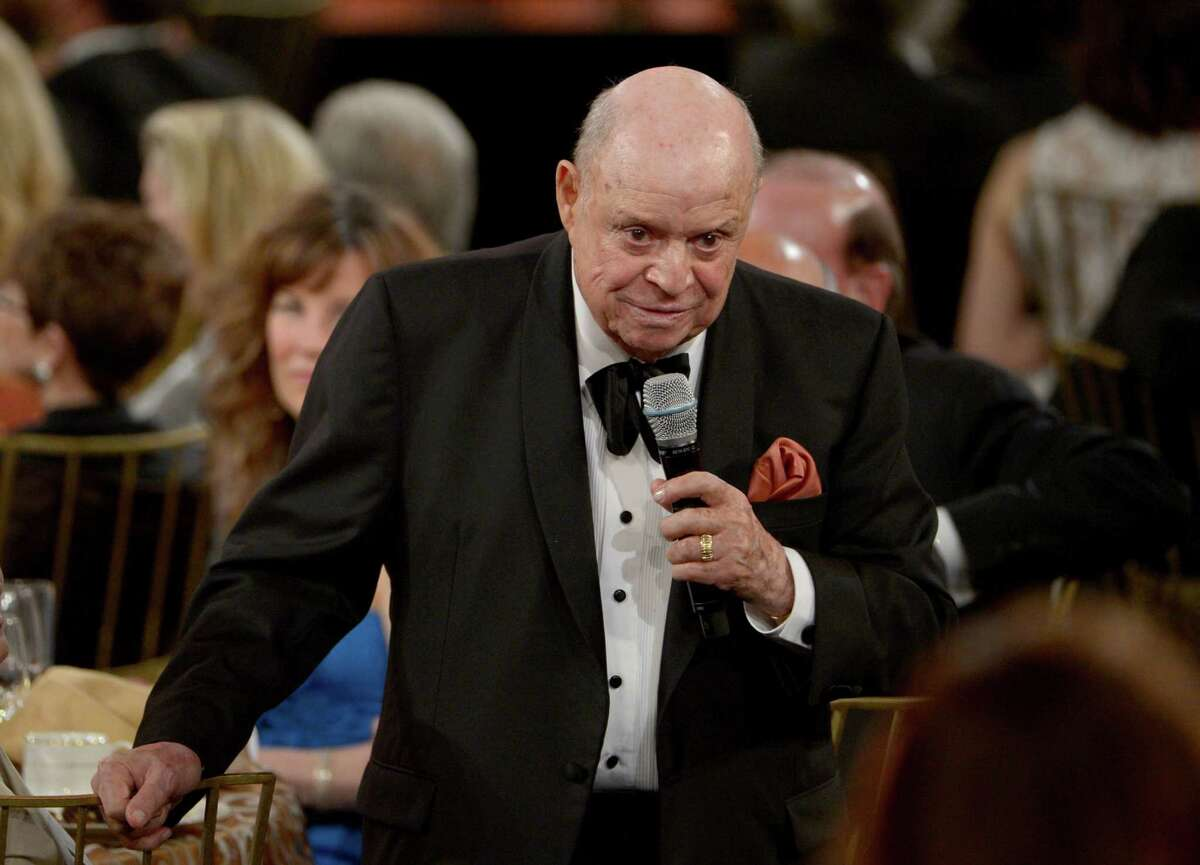 Comedian Don Rickles speaks at the 40th AFI Life Achievement Award honoring Shirley MacLaine held at Sony Pictures Studios on June 7, 2012, in Culver City, Calif. The longtime comic is expected to perform at Foxwoods MGM Grand Theater on Saturday, April 26, 2014, one of only several stops in his 2014 tour. (Photo by Kevin Winter/Getty Images for AFI)