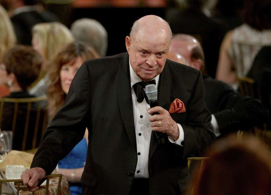 Comedian Don Rickles speaks at the 40th AFI Life Achievement Award honoring Shirley MacLaine held at Sony Pictures Studios on June 7, 2012, in Culver City, Calif. The longtime comic is expected to perform at Foxwoods MGM Grand Theater on Saturday, April 26, 2014, one of only several stops in his 2014 tour. (Photo by Kevin Winter/Getty Images for AFI) Photo: Contributed Photo / Stamford Advocate Contributed