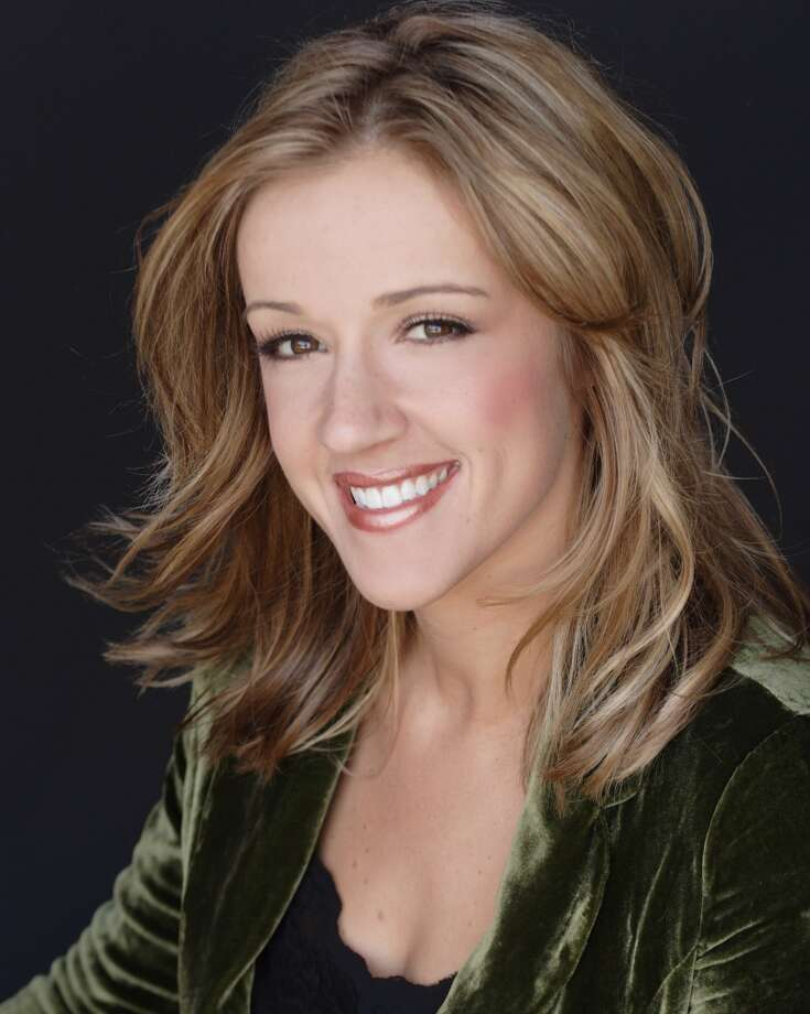 Megan Alexander as viewers here remember her on KENS-TV. Photo: Courtesy