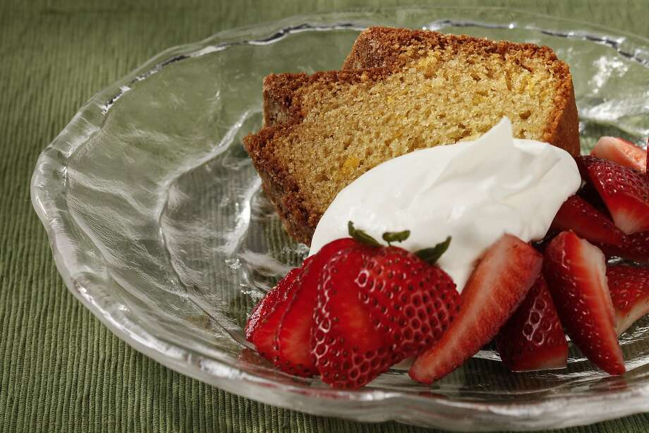 Almond Olive Oil Lemon Cake Photo: Craig Lee, Special To The Chronicle