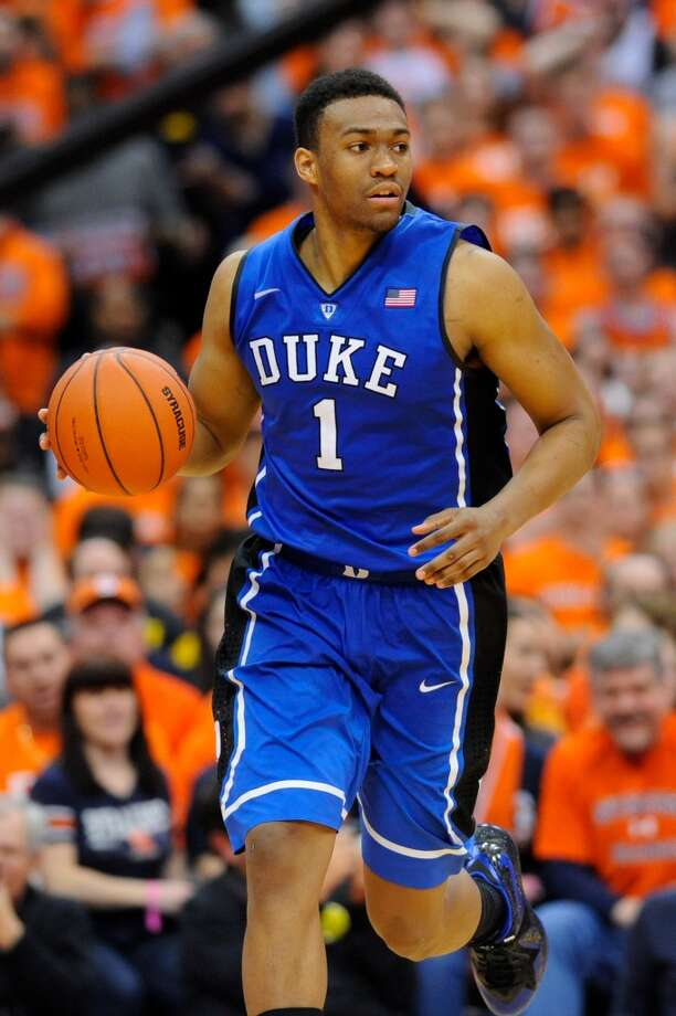 Jabari Parker  Position: Forward  Ht./Wt: 6-8/235 lbs  School: Duke  Classification: Freshman  2013-14 stats: 19 points, nine rebounds, one assist, one steal, one block per game Photo: Rich Barnes, Getty Images