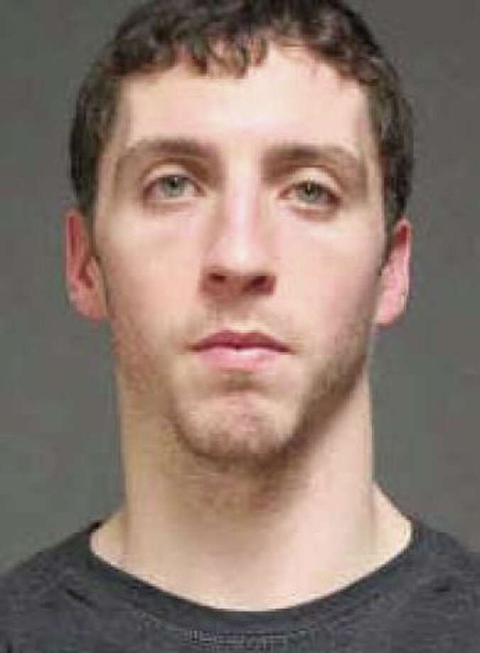 Thomas Cody, 24, of Naugatuck, was arrested on a warrant Thursday morning in connection with vending machines thefts at a local motel. Photo: Contributed Photo / Fairfield Citizen
