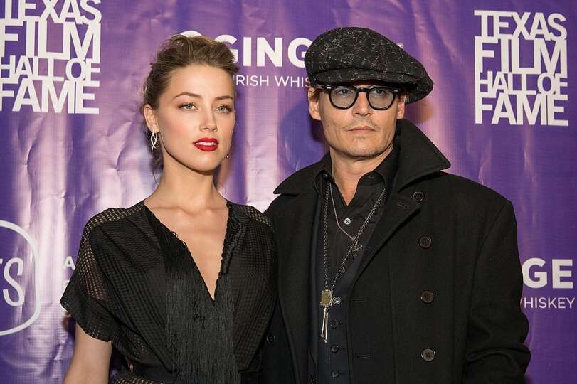 Johnny depp and amber heard age difference 23 years when photo