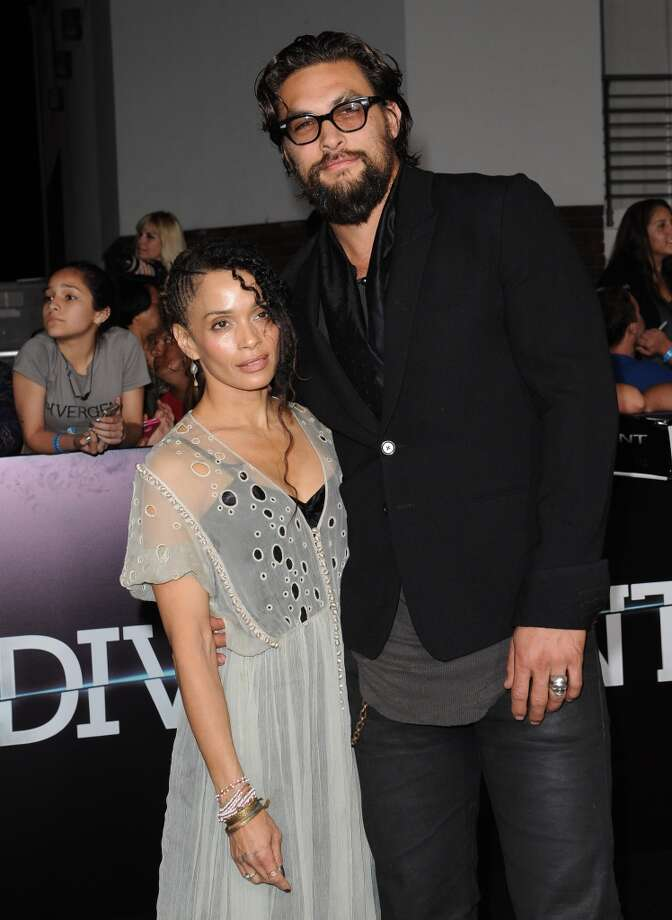 Lisa Bonet and Jason Mamoa (Age difference: 12 years)