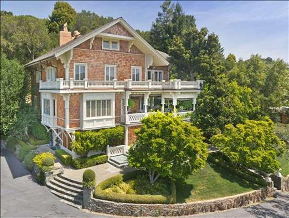 117 Laurel Grove, Ross -- $7,950,000 -- Agent: Donna Goldman Photo: Alain Pinel Realtors