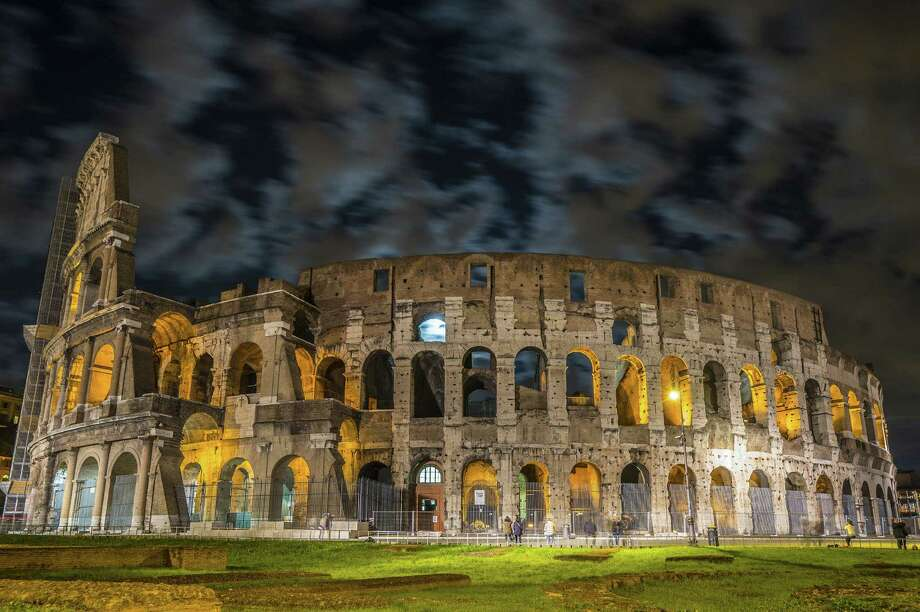 "The Colosseum is believed to have held as many as 80,000 spectators after being built in A.D. 80. A guide referred to it as a place for ""bloody spectacles."" Photo: Photos By Joshua Trudell / For The Express-News"