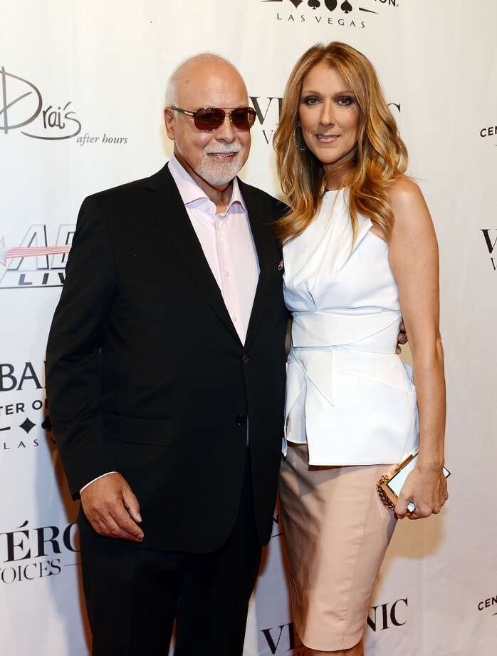 Celine Dion and Rene Angellil (Age difference: 26 years) The year she was born in 1968, his first wife, Denyse Duquette, gave birth to their son, Patrick. Photo: Denise Truscello, WireImage